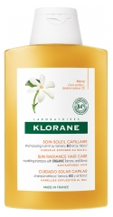 Klorane Sun Radiance Hair Care Shampoo with Organic Tamanu and Monoi 200 ml