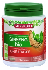 Super Diet Organic Ginseng 150 Capsules