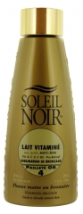 Soleil Noir Vitamined Emulsion Tan Enhancer Gold Glitter SPF 4 150ml