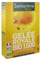 Santarome Bio Organic Royal Jelly 1500 20 Phials