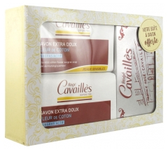Rogé Cavaillès Extra-Gentle Cotton Flower Soap 2 x 250 g + Soap Box Offered