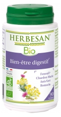 Herbesan Digestive Well-Being 90 Organic Capsules