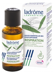 Ladrôme Organic Essential Oils For Diffusion Breathing 10 ml