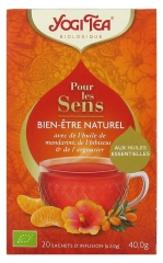 Yogi Tea For The Senses Natural Well-Being 20 Sachets