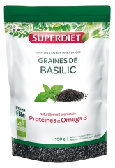 Super Diet Organic Basil Seeds 150 g