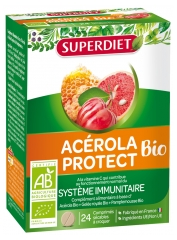 Super Diet Acerola Protect 24 Organic Tablets