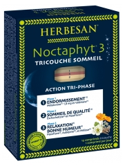 Herbesan Noctaphyt 3 Three-layer Sleep 15 Tablets