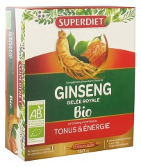 Super Diet Organic Ginseng Royal Jelly 10 Phials