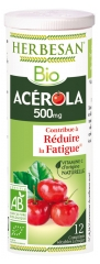 Herbesan Organic Acerola 500 mg 12 Scored Tablets