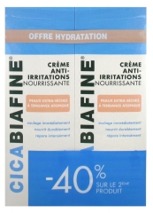 CicaBiafine Anti Irritations Body Moisturising Cream 2 x 200ml