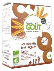 Good Goût Biscuits Tout Ronds Cacao Dès 10 Mois Bio 20 Biscuits