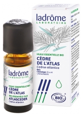 Ladrôme Organic Essential Oil Atlas Cedar (Cedrus Atlantica) 10ml