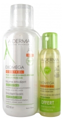 Aderma Exomega Control Emollient Balm 400 ml + Anti-Scratching Emollient Shower Oil 100 ml Offered