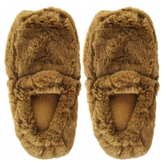 Soframar Cozy Slippers Chaussons Fourrure Bouillotte