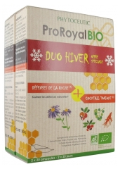 Phytoceutic Organic ProRoyal Winter Duo Pack of 2 x 20 Phials