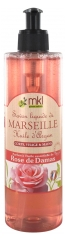 MKL Green Nature Jabón Líquido de Marsella Aceite de Argán Rosa de Damasco 400 ml
