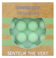 Valdispharm Solid Shampoo Delicate Hair Green Tea Scent 55g