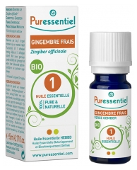 Puressentiel Essential Oil Ginger Organic 5ml