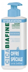 CicaBiafine Daily Hydrating Body Balm 2 x 400ml