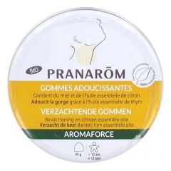 Pranarôm Aromaforce Organic Softening Lozenges Honey/Lemon 45g