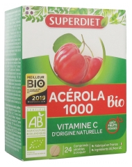 Super Diet Acérola 1000 Organic 24 Tablets