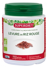 Super Diet Organic Red Rice Yeast 150 Capsules