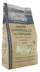 La Corvette Marseille-Seife in Olivenchips 750 g