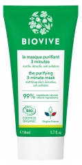 Biovive Masque Purifiant 3 Minutes Bio 50 ml