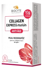 Biocyte Collagen Express Anti-Age Peau Redensifiée 10 Sticks