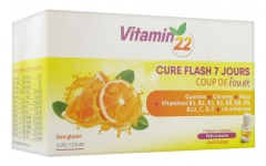 Ineldea Vitamin'22 7 Days Flash Cure 7 Single Flasks