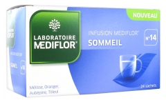 Médiflor N°14 Sommeil Infusions 24 Sachets