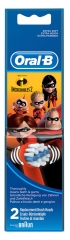 Oral-B The Incredibles 2 Replacement Brush Heads