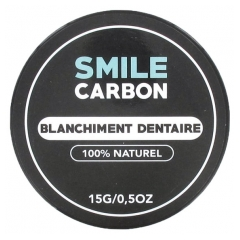 Smile Carbon Blanchiment Dentaire 15 g