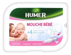 Humer Baby Nose Blower + 4 Disposable Nozzles