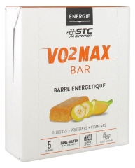 STC Nutrition VO2 MAX BAR 5 Energy Bars x 45g