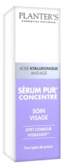Planter's Acide Hyaluronique Anti-Age Sérum Pur Concentré Soin Visage 15 ml