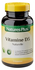 Natures Plus Vitamin D3 90 Scored Tablets