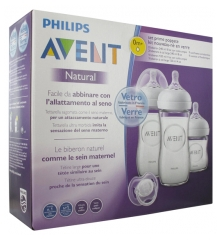 Avent Natural Glass Newborn Kit 0 Month and +