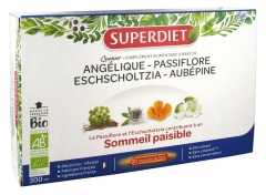 Super Diet Quatuor Organic Passionflower Peaceful Sleep 20 Phials