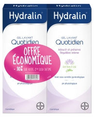 Hydralin Daily Cleansing Gel 2 x 400ml 30% Off
