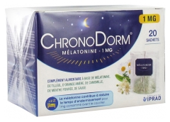 Laboratoires IPRAD ChronoDorm Melatonin 1mg 20 Sachets