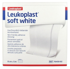 BSN Medical Leukoplast Soft White Special Dressing for Sensitive Skin 8 cm x 5 m
