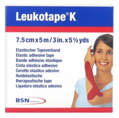 BSN Medical Leukotape K Elastisches Klebeband 7,5 cm x 5 m