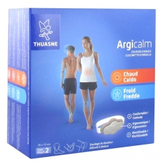 Thuasne Argicalm Reusable Thermal Clay Cushion Hot Cold Size 2