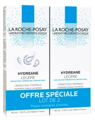 La Roche-Posay Hydreane Light Lote de 2 x 40 ml