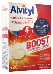 Alvityl Boost Ginseng and Caffeine 20 Effervescent Tablets