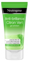 Neutrogena Anti-Brillance Citron Vert Gel Exfoliant 150 ml