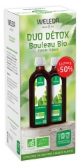 Weleda Duo Detox Organic Birch Juice 2 x 250 ml + Free Bottle