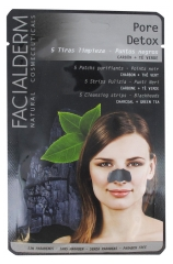 Facialderm Pore Detox 5 Purifying Patches Nose