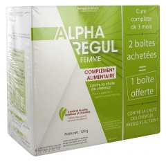 Arlor Natural Scientific Alpharegul Femme Lot de 3 x 60 Capsules